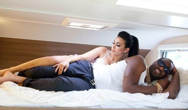 Kim ve Kanye'den şaşırtan balayı