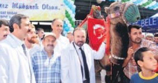 İzmit Modern Hayvan Pazarı törenle açıldı