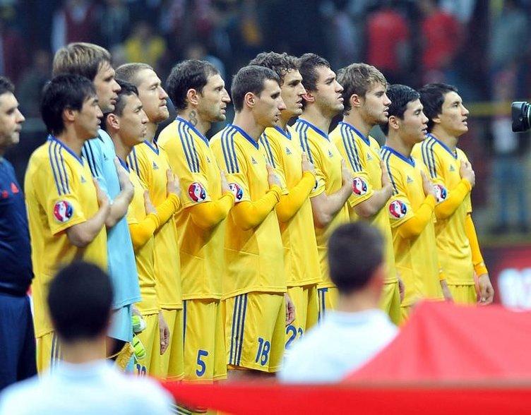 Türkiye - Kazakistan maçının fotoğrafları