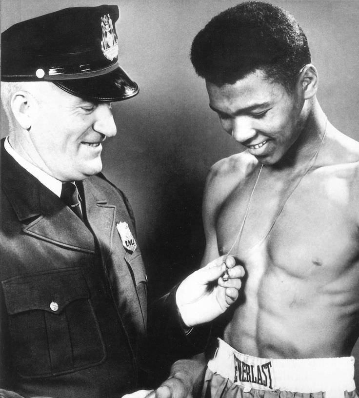 1954-Cassius Clay ve Joe Elsby