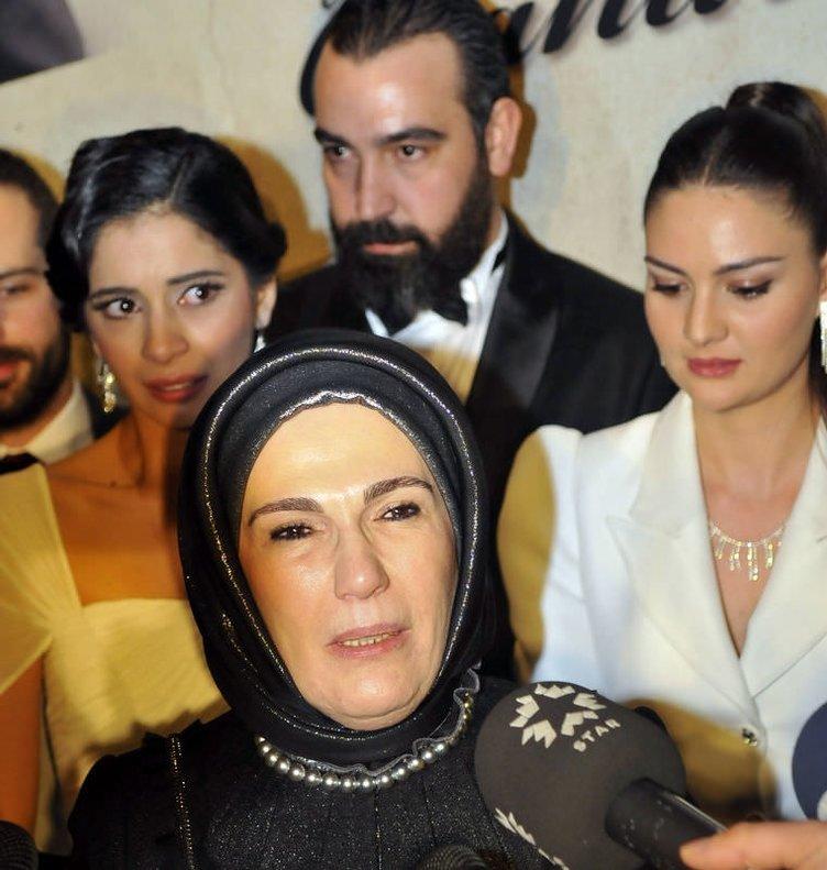 Emine Erdoğan'ı ağlatan film