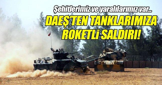 DEAŞ Türk tanklarına saldırdı: 3 şehit, 4 yaralı!
