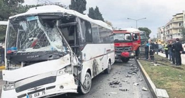 Manisa'da can pazarı: 21 yaralı