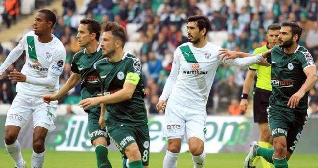 Bursaspor üst üste gelen gollerle kazandı