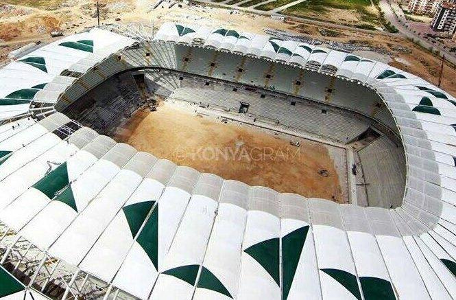 Yeni Konya Stadı bitiyor