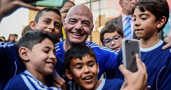 Infantino'nun Dünya Kupası planı!