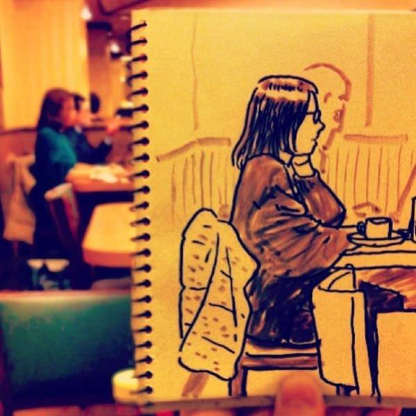 Hayatın içinden çizimler