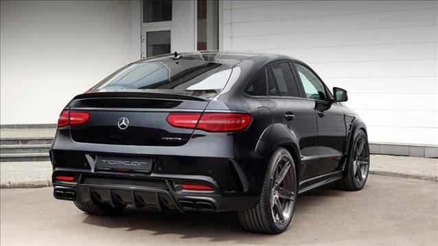 Mercedes GLE Coupe vücut çalıştı