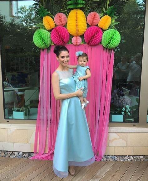 İşte Nefise Karatay ve Yusuf Day çiftinin kızı Maya