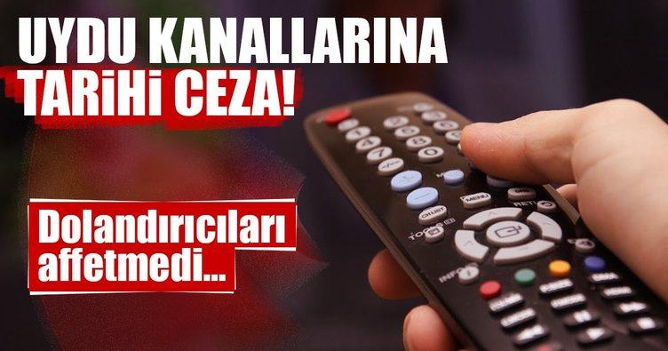 RTÜK'ten uydu kanallarına tarihi ceza