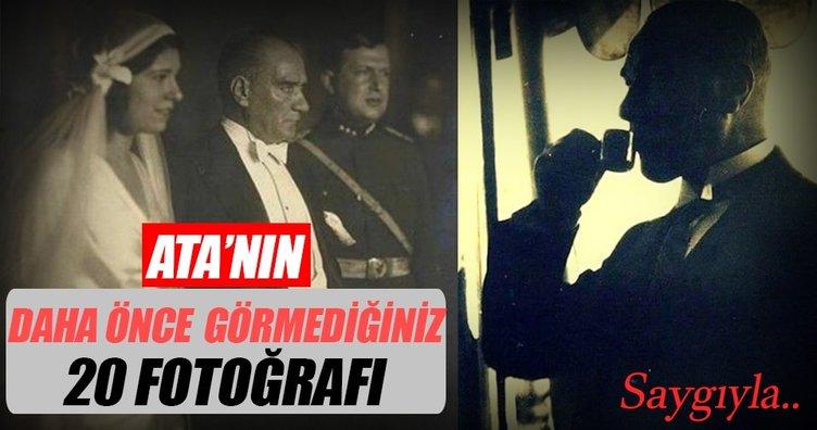 Atatürk'ün daha önce görmediğiniz 20 fotoğrafı