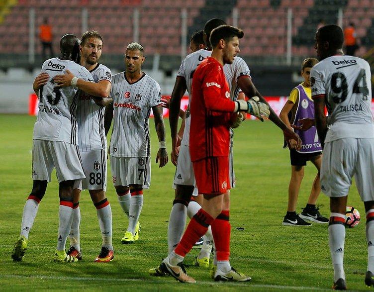 Beşiktaş derbide tam kadro!