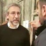 İsviçre'de Can Dündar'a soru sormak isteyen Türk vatandaşı saldırıya uğradı