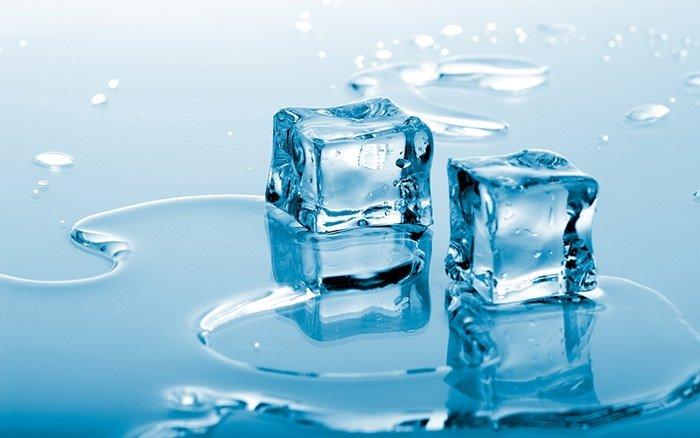 Buz küpleri gençleştiriyor!
