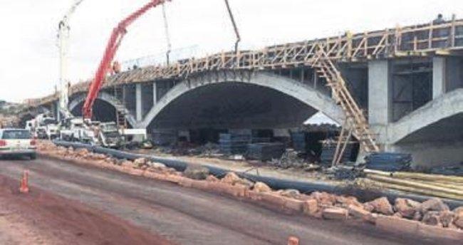 Cunda Köprüsü yıl sonunda hazır