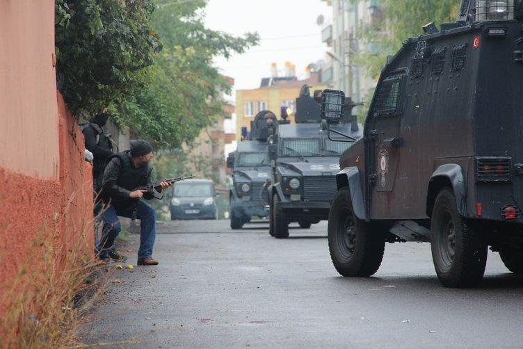 Diyarbakır'daki çatışmanın şiddeti operasyondan sonra ortaya çıktı