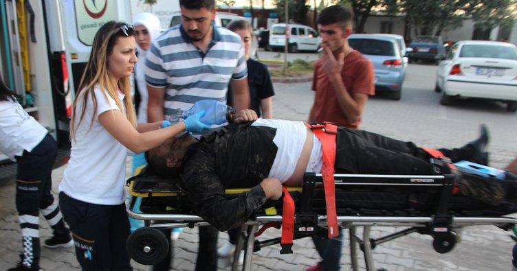 Bonzai kullanırken fenalaşıp, hastaneye kaldırıldı!