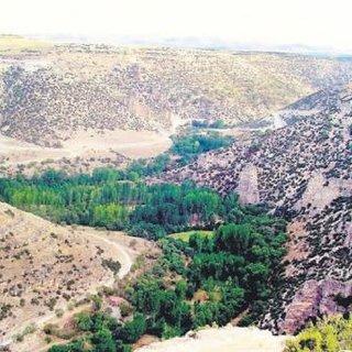 Türkiye'nin en büyük kanyonu: Ulubey