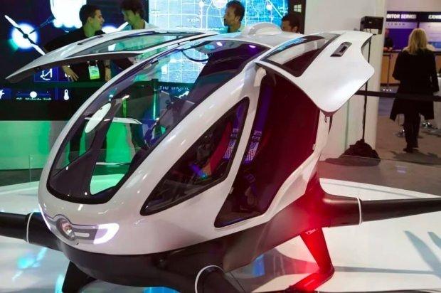 Ehang 184: Yolcu taşıyabilen ilk drone.