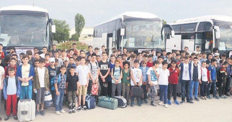 Başarılı öğrenciler tatilde