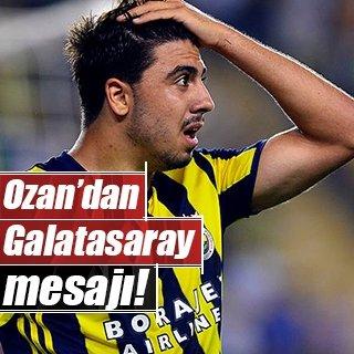Ozan Tufan, Galatasaray maçını bekliyor