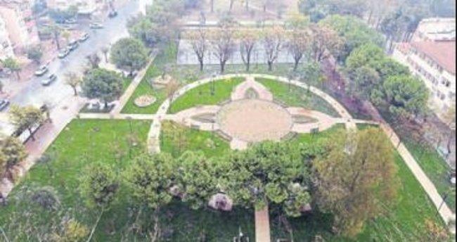 Meltem'de bitki parkı tamamlandı