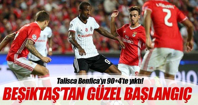 Talisca Beşiktaş'ı hayata döndürdü!