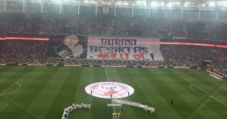 Beşiktaş'tan 'Akıllı ol' koreografisi!