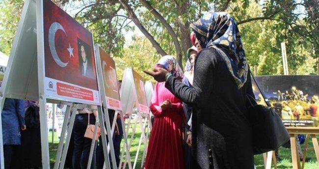 Gaziantep'te '15 Temmuz Diriliş Destanı' sergisi açıldı