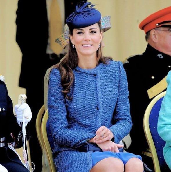 Kate Middleton'ın eski fotoğrafları