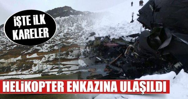 Tunceli'de Sikorsky S-70 tipi helikopter düştü