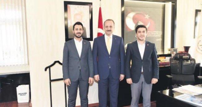 Başkan Akgül'e 15 Temmuz teşekkürü