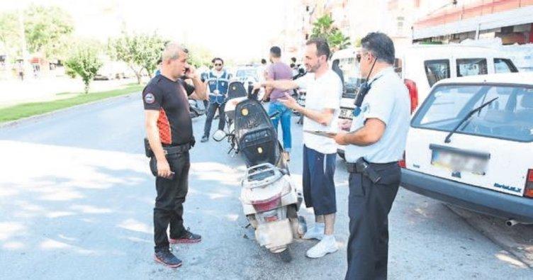 Kural tanımayanlar polise yakalandı