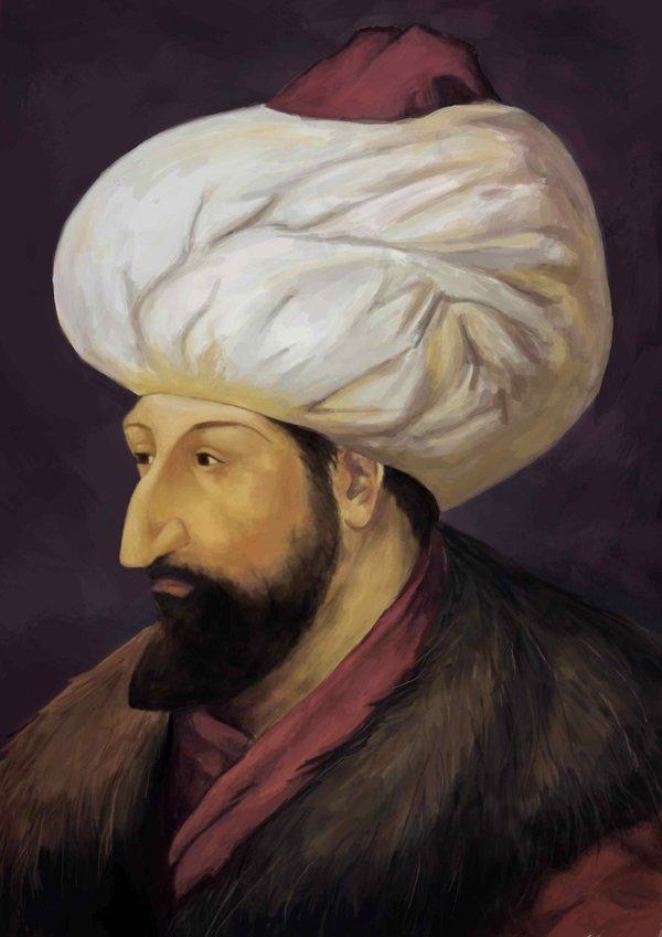 Fatih Sultan Mehmet'in çocukluk defteri!