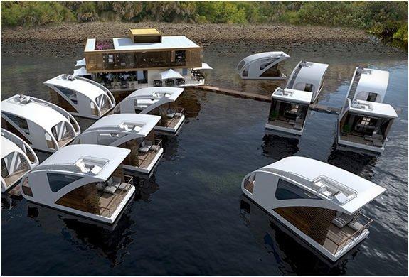 Yüzen otel