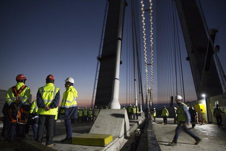 Köprüde son 415 metre