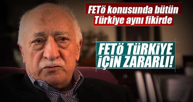 Yüzde 94.2: FETÖ Türkiye için zararlı