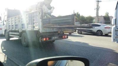 Melih ABİ: Demir yüklü kamyon böyle seyreder mi?