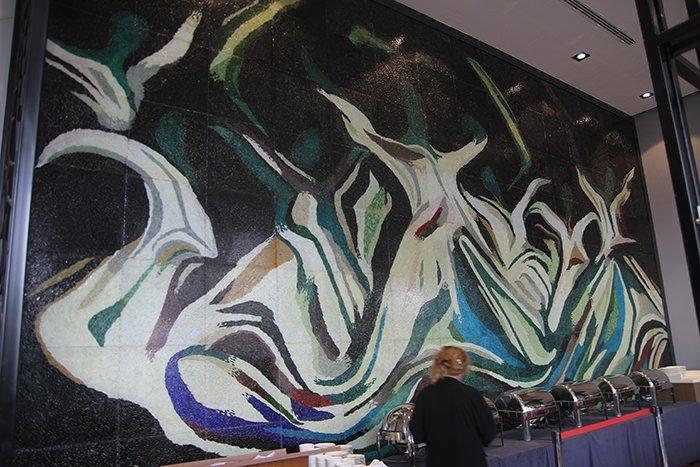 İki milyon parça camla sema gösterisi