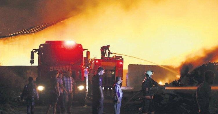 'Yangın tertibatı yok her yerde çöp var'