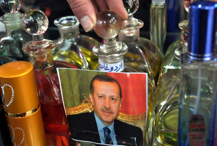 Gazze'de Erdoğan parfümü