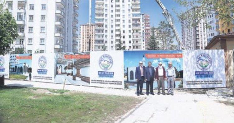 Talas Belediyesi 8'inci caminin temelini attı