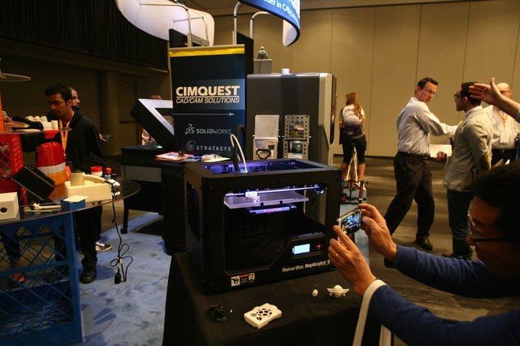 3D yazıcılar New York'ta görücüye çıktı