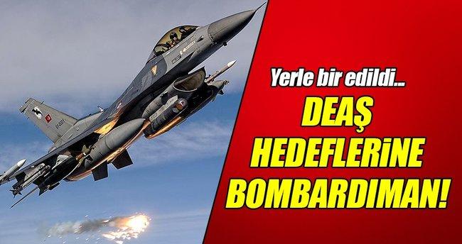 DEAŞ'a ağır bombardıman!