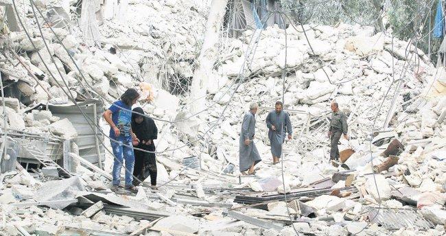 Esad katlediyor dünya izliyor