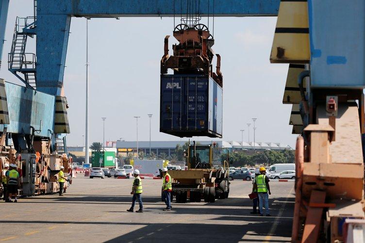 Gazze'ye yardımları taşıyan 'Lady Leyla' Aşdod Limanına ulaştı