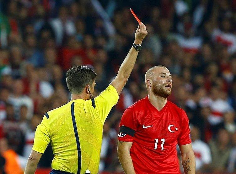 Gökhan Töre cezasını Euro 2016'da çekmeyecek