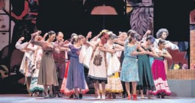 "Ankara Devlet Opera ve Balesi'nden ""Frida"""