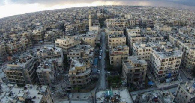 Halep'te yerleşim yerlerine yönelik saldırılar