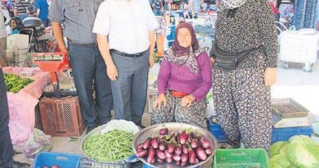 Çendik'in patlıcanı Çerçin'in kavunu